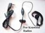 1X KEWOODEJ Earbud Ear Mic for Kenwood TK Radios