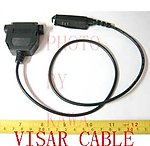 5X MCBVSAZ1 Program Cable for Motorola VISAR without RIB