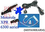 1X MOT6300EARM Ear PTT Mic for Motorola XPR 6300 6350 6500 6550 NEW