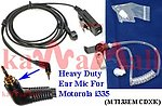 20X MTI33EMCDXK Heavy Duty Ear Mic for Nextel Motorola i335 Radio