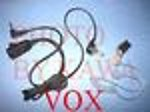 1X 6200VOXDG Surveillance Ear Mic VOX for Motorola T6200