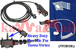 5X VTXDXK Ear mic for Vertex Yaesu VX-210 180 Radio V2 w Screws