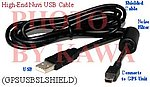 20x GPSUSBSLSHIELD USB Hi-N Shielded Data Cable Nuvi 660 For Garmin GPS