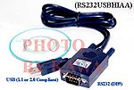 20x RS232USBHIAA USB SERIAL RS232 DB9 CABLE VISTA XP MAC LINUX PDA GPS