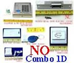1X LCKOMBOPD Combo D RFID Door Lock & Bell & Switch & Door Strike NO