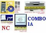 1X LCKOMBOPA Combo 1A Fingerprint Access Control & Bell & Switch & Strike NC