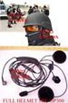 1X MEBMIFTEL Full Helmet Headset Mic for Motorola GP300 HT1250 XTN series