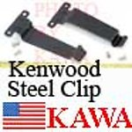 100X KWDCLIPSTEEL Belt Clip Steel for KENWOOD TK280