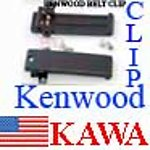 100X KWDCLIPTKTH Belt Clip Plastic for KENWOOD TK-280