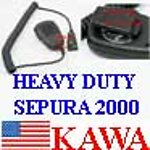 1x SRP2000SP1 Speaker Mic for Sepura 2000