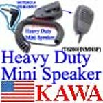 1X T6200HNMNSP Heavy Duty Mini Speaker for Motorola Talkabout T7200