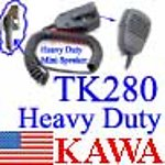 1X TK280SPK2 Heavy duty Mini TK280 speaker mic