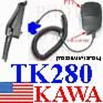 5X TK280XHM MINI Speaker Mic for Kenwood TK280