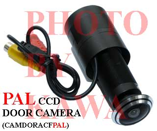 1X CAMDORACFPAL Sony 1.7 PEEP HOLE Door Color Camera EYE 136 View PAL