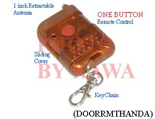 1x DOORRMTHANDA Remote Control ONE Button for Garage Door Opener