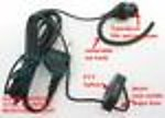 20X ICOMEGPTY Transducer Ear mic bone Earbone for ICOM series radio
