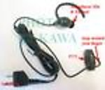 1X ICOMEGPTY Transducer Ear Mic Earbone for Motorola Talkabout 200 250 FRS series