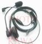 100X MEBMMCBRG3 Single Speaker Headset Mic for Motorola GP300 HT1250 XTN series