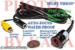 5X CAMXS28NTMRR Wide 150dg View Night Vision XS Car Reverse NTSC Camera