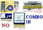 1X LCKOMBOPB Combo 1B Fingerprint Access Control & Bell & Switch & Strike NO
