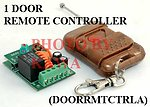 1x DOORRMTCTRLA Garage Gate Door Opener Universal Remote Access Control