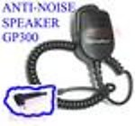 1X GP300ANSHV Anti-noise Speaker Mic Motorola GP300 XTN HT1250 NoAdap