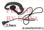 1X EAR4SPK25MMV1 2.5mm Earbud for speaker