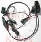 50X HTCTDRCTRVX Throat Mic for Motorola HT1000 with built in adapter