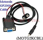 5x MOTG2KCBL RS232 Programming cable for Motorola GP2000 P040 CP200 NEW