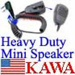 5X KWDHNMNSP Mini Heavy Duty Speaker Mic for Kenwood TK3107 TK