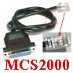 20X MCS2KCBL Cable for Motorola MCS2000 GM900