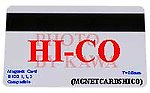 50x MGNETCARDSHICO 50X Glossy Blank Magnetic Stripe PVC ID Cards HiCo 1-3