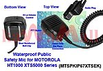 1X MTSPKIP67XTSEK Public Safety Waterproof Speaker Mic for MOTOROLA HT1000 XTS5000 MTX9000