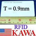100X RFCARDV2WT RFID Card 0.9mm