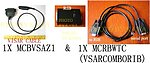 1X VSARCOMBORIB Program Cable for Motorola VISAR with RIB