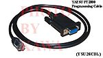 1X YSU28CBL Programming cable for Yaesu FT-2800 FT-1802,1500 CT-29F