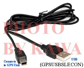 20x GPSUSBSLECON USB Data Cable Nuvi 200 360 660 c580 For Garmin