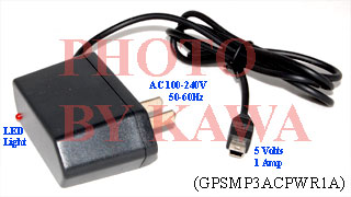 1x GPSMP3ACPWR1A AC Power Charger Adapter for Garmin Nuvi 200 250 260 270